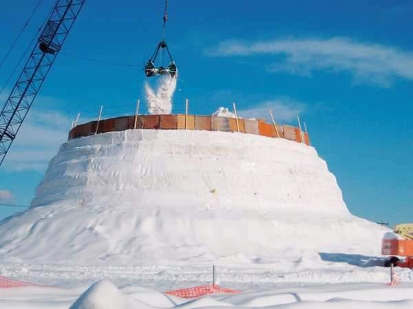 Shangrala's World's Tallest SnowWoman