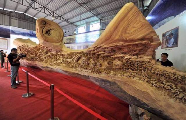 Shangrala's Tree Trunk Art