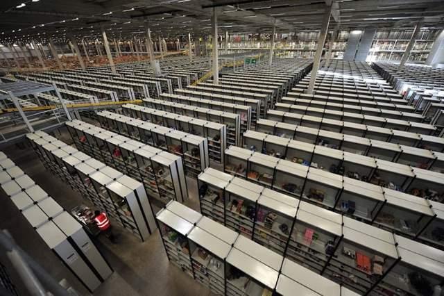 Shangrala's Amazon Warehouses