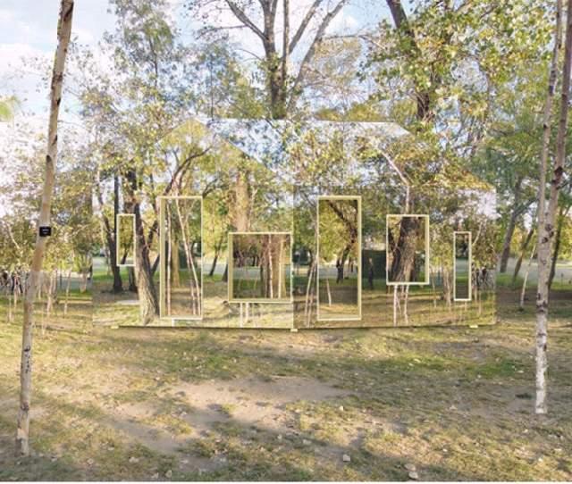 Shangrala's Buildings In Camouflage