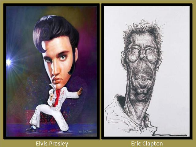 Shangrala's Celebrity Caricatures 2