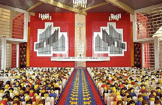 Shangrala's Lego Church