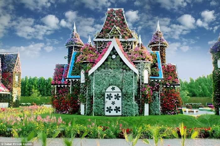 Shangrala's Dubai Miracle Garden