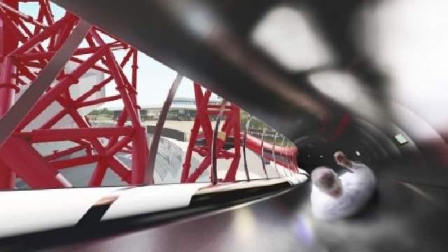 Shangrala's World's Tallest Tunnel Slide