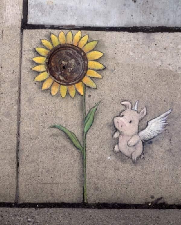 Shangrala's Chalk Art 9