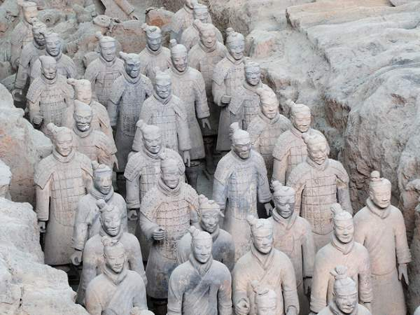 Shangrala's Army Of Terracotta Cave