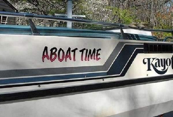 Shangrala's Humorous Boat Names