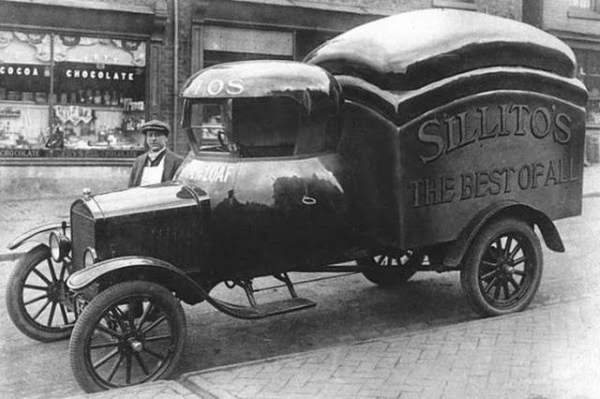 Shangrala's Old Delivery Trucks