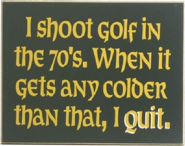 Humor With Golf