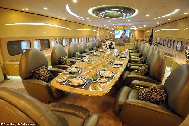 Shangrala's Celebrity Private Jets