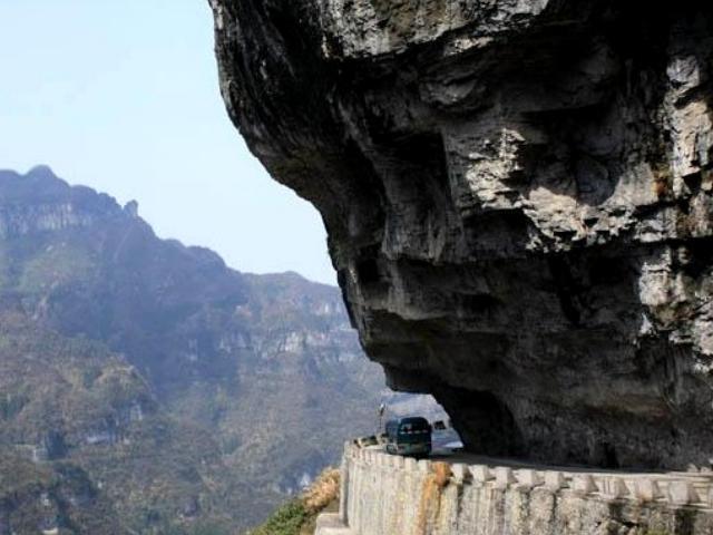 Shangrala's Tianmen Mountain