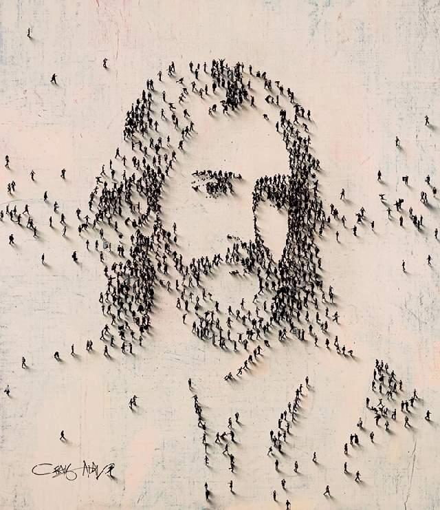 Shangrala's Craig Alan's People Art