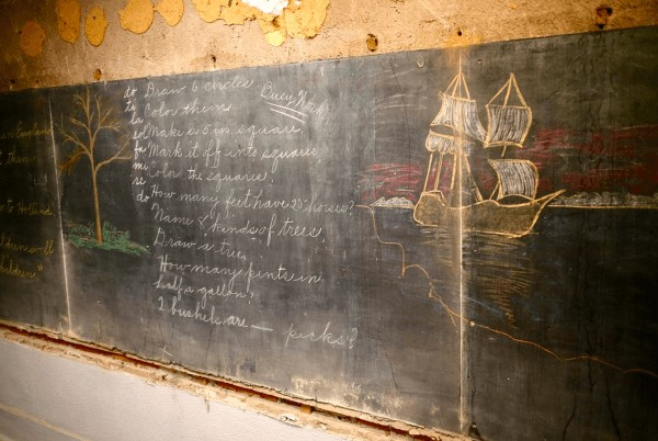 Shangrala's Old 1917 Blackboards