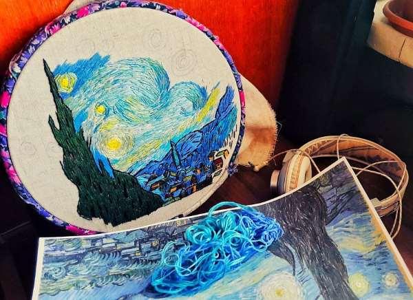 Shangrala's Embroidery Art