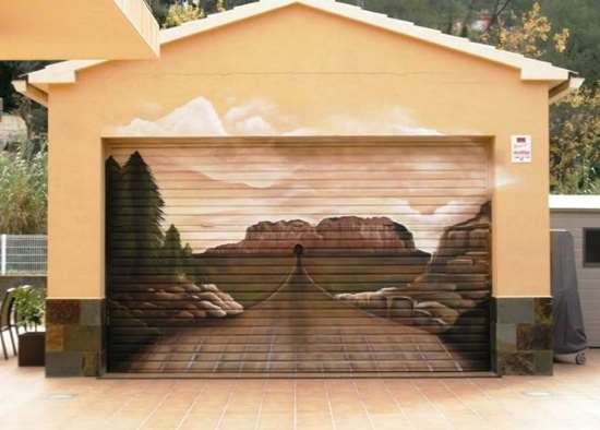 Shangrala's Garage Door Art 2!