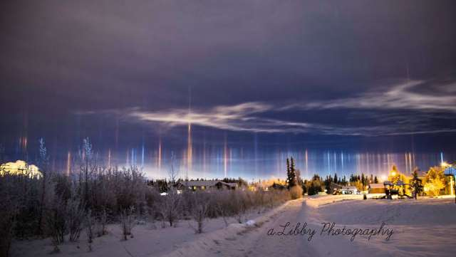 Shangrala's Amazing Light Pillars