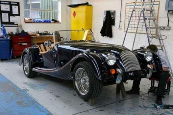 Shangrala's Morgan's Sports Cars