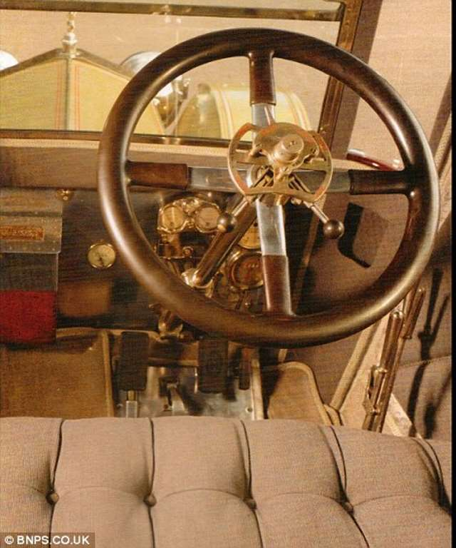 Shangrala's Rare Old Rolls-Royce
