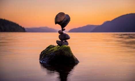 Shangrala's Rock Balancing Art 2