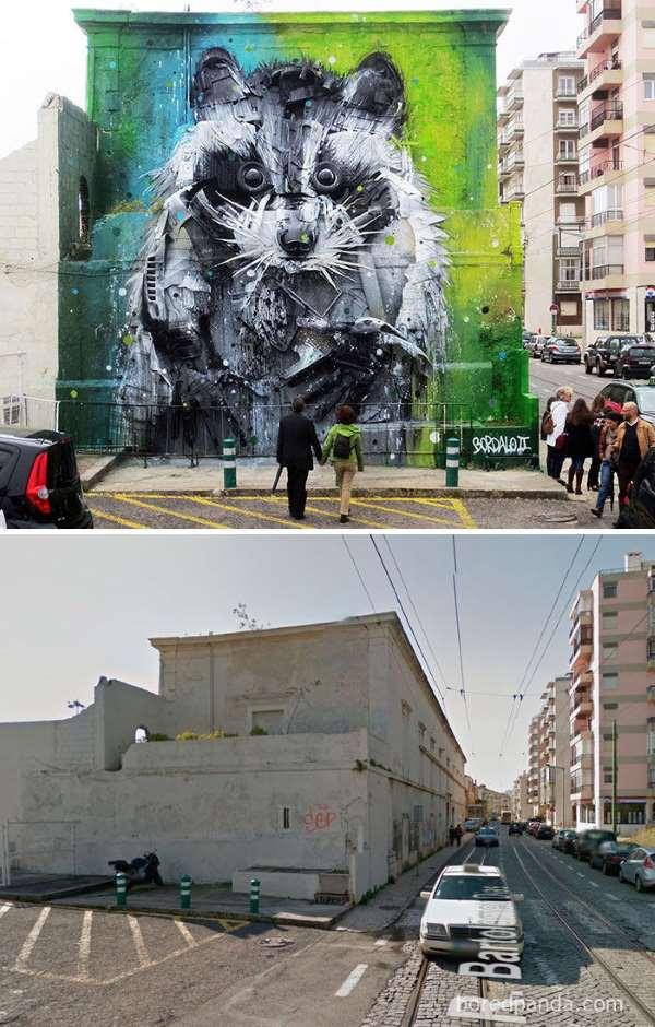 Shangrala's Wall Mural Art 5