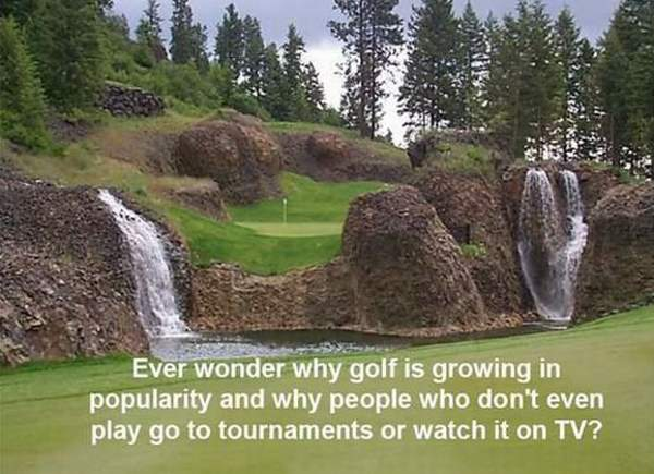 Why Golf Is Better