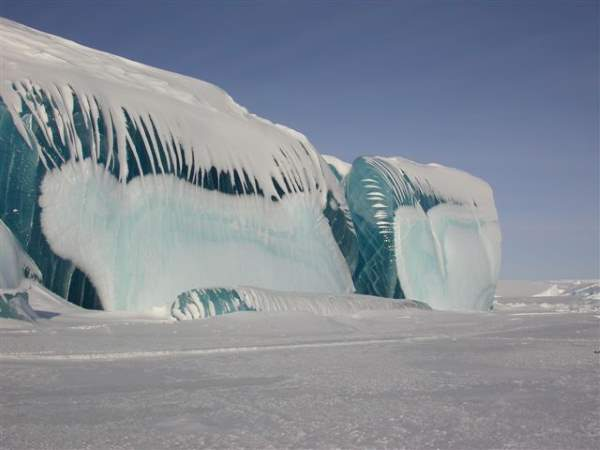 Shangrala's Amazing Striped Icebergs