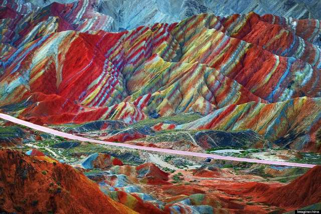 Shangrala's Rainbow Mountains