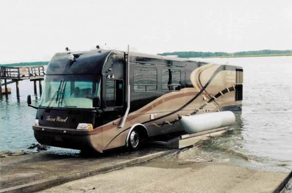 Shangrala's Terra Wind Amphibious RV