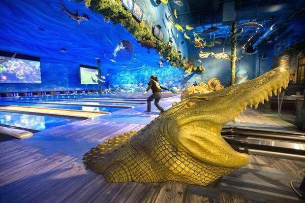 Shangrala's Undersea Bowling Alley