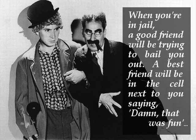 Shangrala's Groucho Marx Quotes