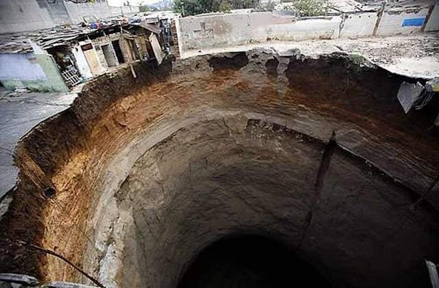Shangrala's Amazing Sinkholes
