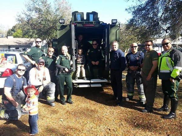 Shangrala's Cops Saving The Day
