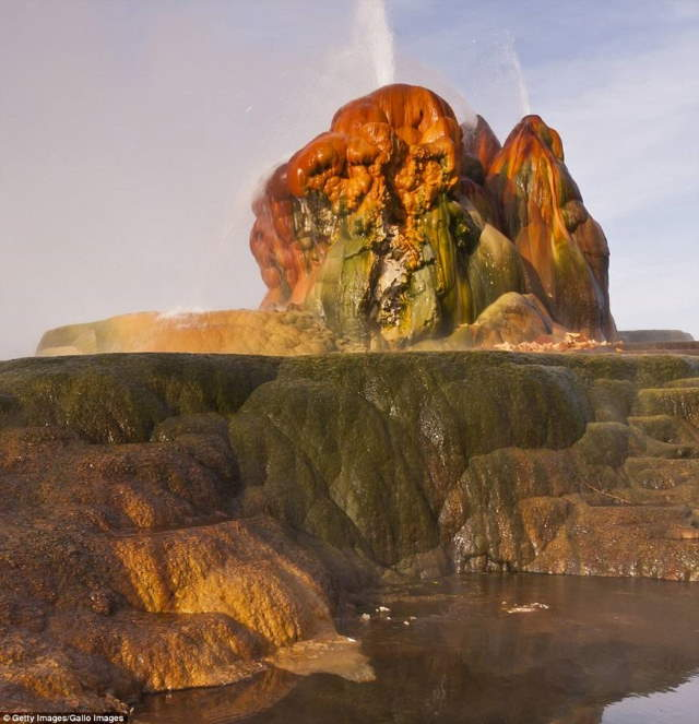 Shangrala's Nevada's Fly Geyser