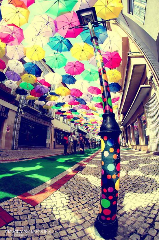 Shangrala's Umbrella Sky Project