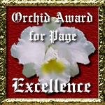Orchid Award!