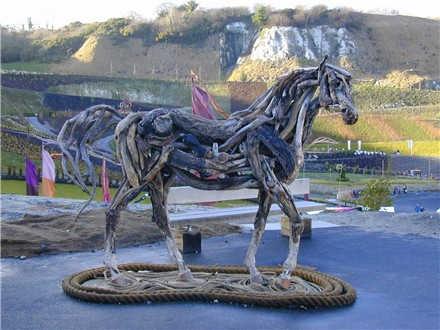 Shangrala's Driftwood Horses