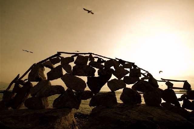 Shangrala's Rock Balancing Art