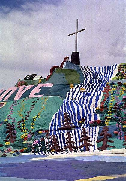 Shangrala's Salvation Mountain