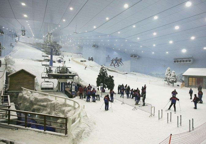 Shangrala's Desert Skiing Resort