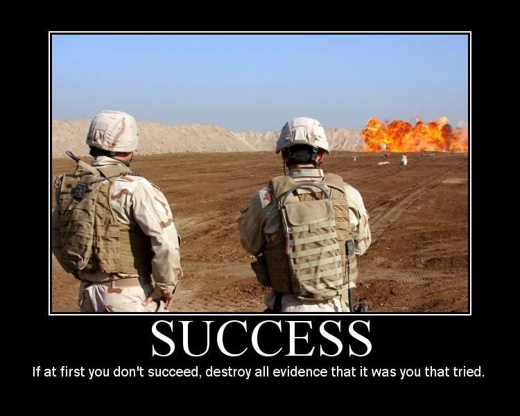 Shangrala s military motivational posters