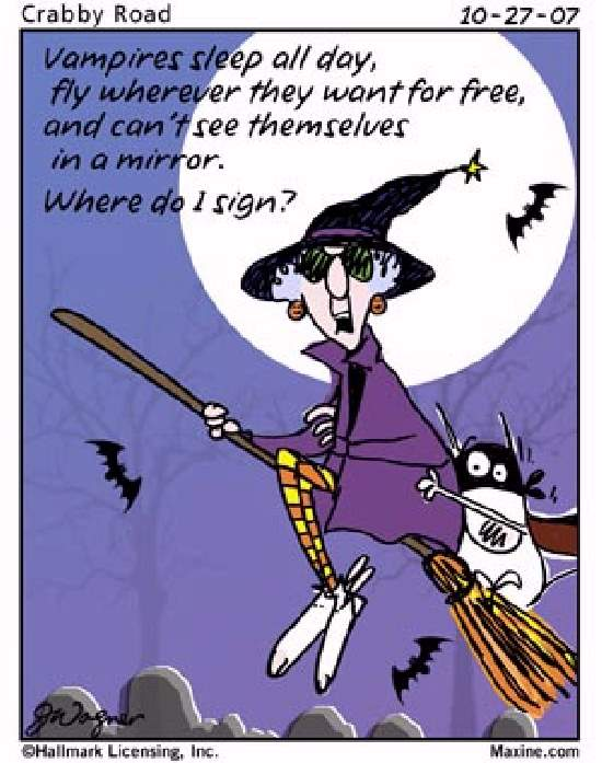 ShangralaFamilyFun.com - Shangralas Maxine On Halloween!