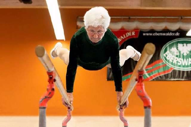 You might want to follow the example of 86-year-old german retiree johanna