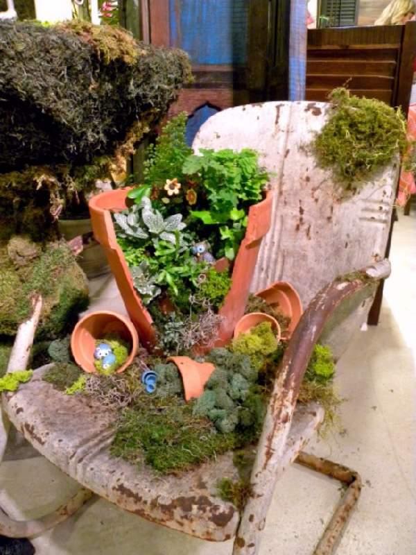 Shangralafamilyfun Com Shangrala S Fairy Garden Pot Art