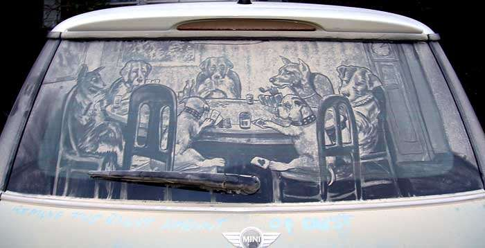 Shangrala s Dirty Car Art